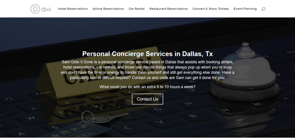 wordpress website developer dallas tx sam gets it done personal concierge service